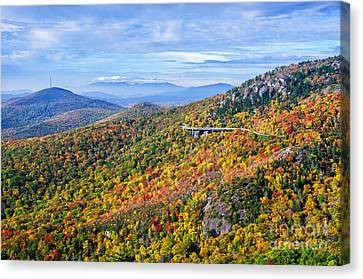 Blue Ridge Colors Canvas Print by Anthony Heflin