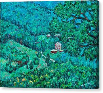 Blue Ridge Magic Canvas Print by Kendall Kessler