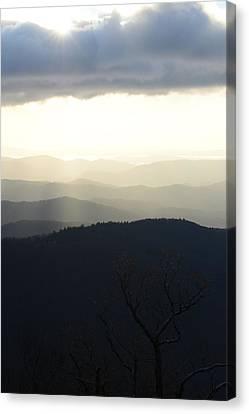 Blue Ridge Mist 2 Canvas Print
