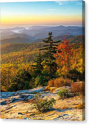 Blue Ridge Morning Canvas Print by Anthony Heflin