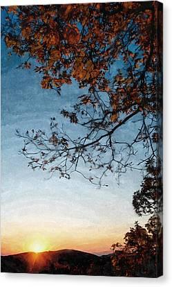 Blue Ridge Mountail Fall Canvas Print