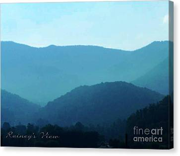 Blue Ridge Mountains Canvas Print by Lorraine Heath