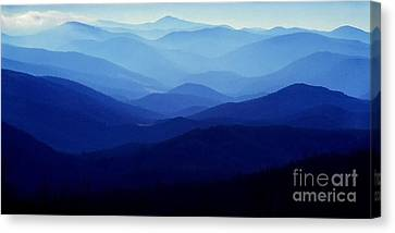 Blue Ridge Mountains Canvas Print by Thomas R Fletcher
