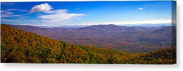 Blue Ridge Parkway Canvas Print by Marion Johnson
