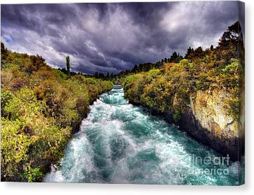 Blue River Canvas Print by Colin Woods