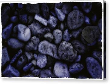Blue Rocks Canvas Print by Jerry Golab