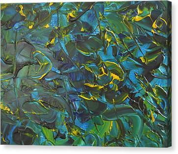 Blue Sea Canvas Print by Lisa Williams