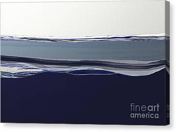Blue Seas Canvas Print by Shesh Tantry