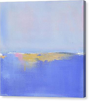 Blue Silences Canvas Print by Jacquie Gouveia