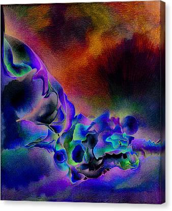 Blue Sky Canvas Print by Bodhi