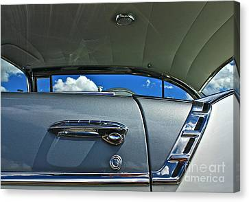 Canvas Print featuring the photograph 1956 Chevy Bel Air by Linda Bianic