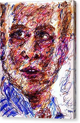Blue Suit Canvas Print by Rachel Scott