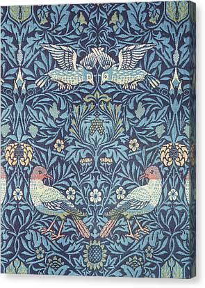 Blue Tapestry Canvas Print by William Morris