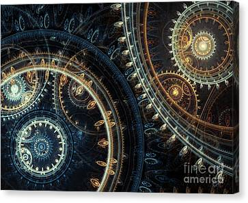 Blue Time Canvas Print by Martin Capek