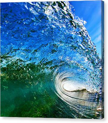 Digital Canvas Print - Blue Tube by Paul Topp