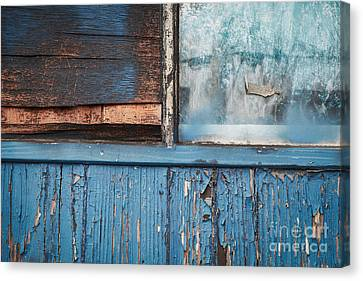 Blue Turns To Grey Canvas Print by Dean Harte
