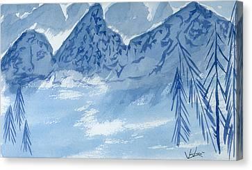 Blue View #2 Canvas Print
