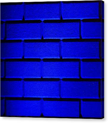Blue Wall Canvas Print