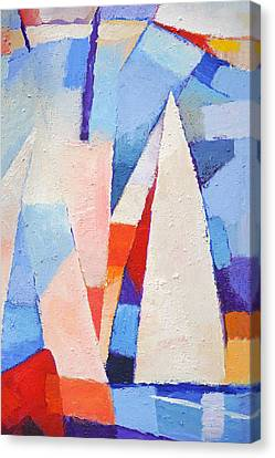 Blue Winds Canvas Print by Lutz Baar