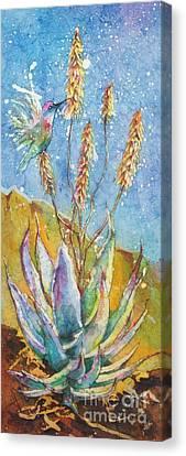 Blue Yucca Canvas Print