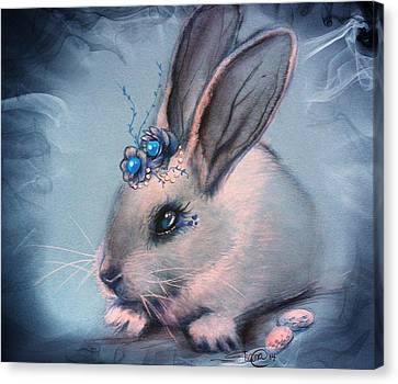 Bluebell Canvas Print by Sheena Pike