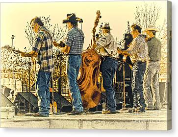 Bluegrass Evening Canvas Print by Robert Frederick