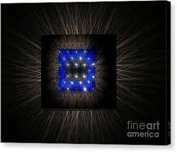 Blues-3 Canvas Print by Baljit Chadha