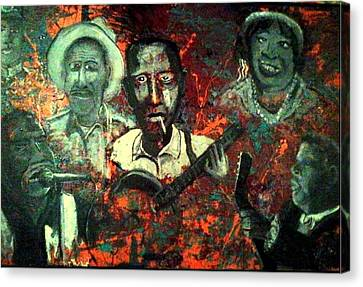 Blues Begin Canvas Print by Richard  Hubal