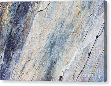 Bluestone - Cleaving Stone Canvas Print by Michal Boubin