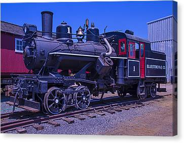 Old Trains Canvas Print - Bluestone Train Number One by Garry Gay