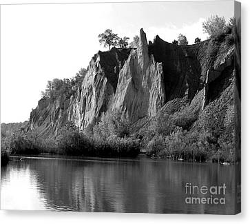 Canvas Print featuring the photograph Bluffers Park Toronto Canada by Susan  Dimitrakopoulos