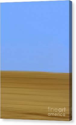 Blurred Fields Canvas Print