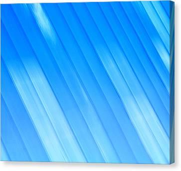 Metallic Sheets Canvas Print - Blurred Metal Roof by Jozef Jankola
