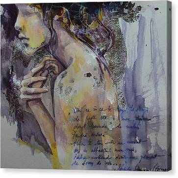Blurred Mood Canvas Print by Dorina  Costras