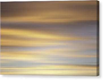 Canvas Print featuring the photograph Blurred Sky 1 by John  Bartosik