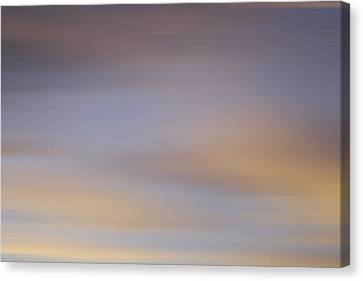 Canvas Print featuring the photograph Blurred Sky 2 by John  Bartosik