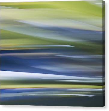 Blurscape Canvas Print by Dayne Reast