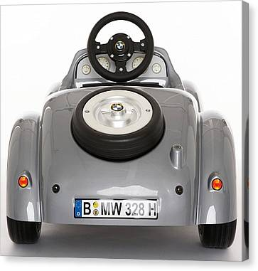 Bmw Going Places Art Canvas Print by Marvin Blaine