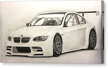Bmw Gtr M3 Canvas Print by Gary Reising