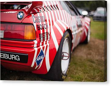 Bmw M1 Racecar Canvas Print by Mike Reid