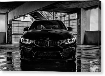 Bmw Canvas Print - Bmw M4 by Douglas Pittman