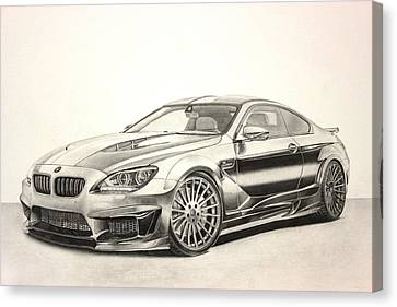 Bmw M6 Canvas Print by Gary Reising