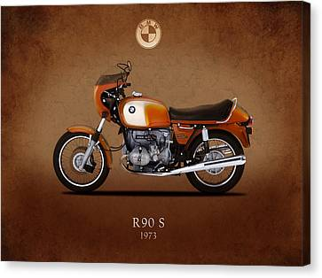 Bmw Canvas Print - Bmw R90 S by Mark Rogan