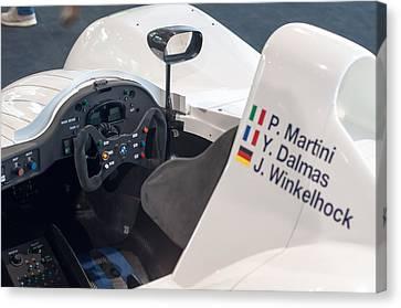Bmw V12 Lmr F1 Race Car 1999 Canvas Print by Frank Gaertner