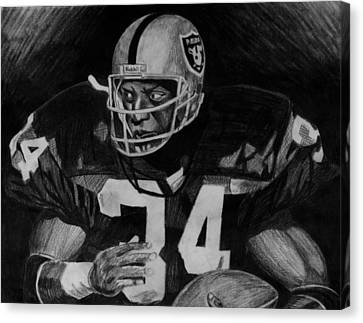 Bo Jackson Canvas Print