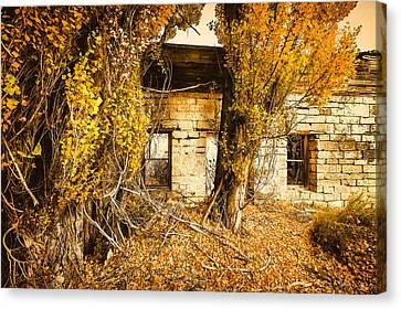 Boarding House Ruins Canvas Print