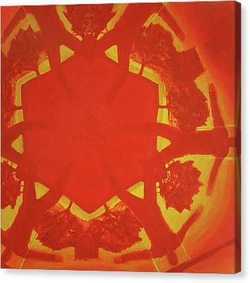 Boards Of Canada Geogaddi Album Cover Canvas Print by David Rives