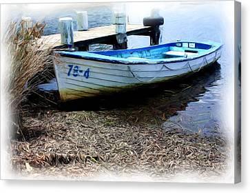 Boat 78-4 Canvas Print by Ian  Ramsay