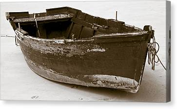 Boat Canvas Print by Frank Tschakert