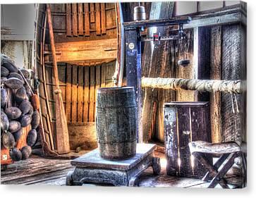 Boat N Barrel Canvas Print by Ri Davidson